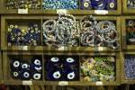 Thumbnail Turkey Bursa bazar bazaar costume jewellery Fatimas eye protection defense of the malicious wicked view