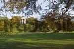 Thumbnail Munich, DEU, 25 Oct. 2004 - The Monopteros in the Englischer Garten English Garden in Munich. The round temple was built in 1836 by Leo von Klenze.