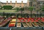 Thumbnail Cambridge Cambridgeshire England Great Britain United Kindom boats on the river Cam