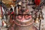 Thumbnail brass bell at a Kali temple, Dakshinkali, Kathmandu valley, Nepal