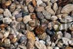 Thumbnail gravel in water
