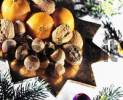 Thumbnail Tangerines, nuts, Christmas decoration