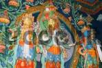Thumbnail statue at a buddhist temple, Nepal