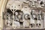 Thumbnail Tympanum of knights chapel Ritterkapelle in Haßfurt Hassfurt Franconia Bavaria Germany