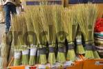 Thumbnail broom for sale at the market of Sanaa, Sanaa, Yemen