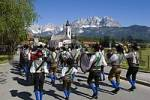 Thumbnail Feast of Corpus Christi procession in Oberndorf Tyrol Austria