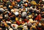 Thumbnail Coloured pebbles at the beach Spiaggia delle Ghiaie Portoferraio Island Elba Tuscany Italien