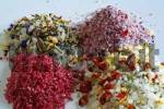 Thumbnail colourful sea salts, with several spices and herbs like hibiscus, rose petals, chili and paprika