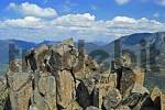 Thumbnail rocky summit of Mt Pelion East on Overland Track in Cradle Mountain Lake St Clair Nationalpark Tasmania Australia