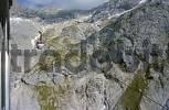 Thumbnail cliffs of mountain Dachstein seen from cable car Styria Austria