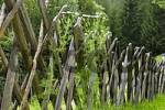 Thumbnail traditional wooden fence near Heiligenblut Carinthia Austria