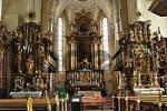 Thumbnail interior view of church St. Andreas Kitzbühel Tyrol Austria