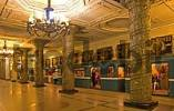 Thumbnail GUS Russia St Petersburg 300 years old Venice of the North Metro Station Subway Station most beautiful Station with Art designed Columns from 30 er years