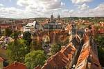 Thumbnail BRD Germany Thüringen Free State Thüringen Erfurt City of University Capital since 1990 Landmark of the 1250 Years old City is the Cathedral Hill with two Churches Arrangement Cathedral