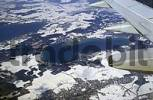 Thumbnail Aerial view out of aeroplane, with wing of Woerthsee and environs in winter Starnberg district / county, Upper Bavaria, Germany