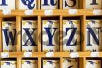Thumbnail Ceramik tiles with letters XYZ