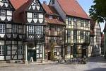 Thumbnail Quedlinburg near the Harz mountains Sachsen-Anhalt Germany Schlossberg castle hill timbered houses local museum dedicated the German poet Friedrich Klopstock
