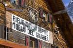 Thumbnail Canazei Trentino Italy Valle di Fassa skiing region Ciampac Rifugio Alpino Tobia del Giagher