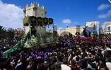 Thumbnail Conil de la Frontera Semana Santa Procession in Holy Week Andalusia Province Cadiz Spain