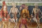Thumbnail Danse macabre - Frescos in the church Sv. Trojica  Hl. Trinity  in Hrastovlje - painted 1490 by Johannes von Kastav - Slovenia