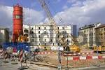 Thumbnail area of construction in city Vienna Austria