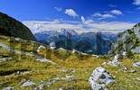 Thumbnail View from Monte Civetta to Marmolada in the Dolomite Mountains, Italy