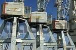 Thumbnail Old cranes at Hamburg Harbour Germany