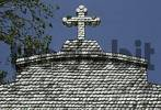 Thumbnail La Toja church decorated with sea shells Galicia Spain