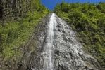 Thumbnail Waterfall in the valley of Grand Etang, La Reunion Island, France, Africa