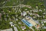 Thumbnail aerial view of the public pool in Baden Lower Austria