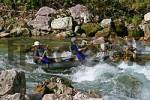Thumbnail white water rafting and canoeing on the Salza river village of Wildalpen Styria Austria