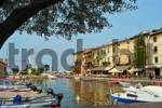 Thumbnail in the harbour of Lazise, Lake Garda, Italy