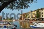 Thumbnail in the harbour of Lazise, Lake Garda, Italy