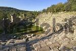 Thumbnail Phaselis near Kemer south of Antalya Turkey ancient city with excavation amphitheater amphitheatre