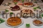 Thumbnail cake on birthday desk