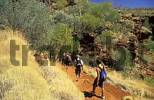 Thumbnail hikers at Weano Gorge, Karijini National Park, Hamersley Range, Pilbara