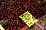 Thumbnail Cherries at market stand