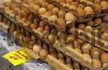 Thumbnail Eggs in cartons at market stand