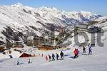 Thumbnail Ski lessons at Les Menuires ski resort Trois Vallees France