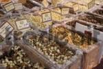 Thumbnail nuts at market stand