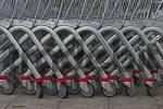Thumbnail shopping carts waiting for using
