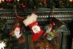Thumbnail Christmas decoration, Santa Claus boots