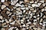 Thumbnail Woodpile, stacked firewood