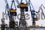 Thumbnail Industrial cranes, Hamburg Harbour, Hamburg, Germany