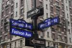 Thumbnail Fashion District, Fashion Walk of Fame, New York, USA