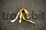 Thumbnail Banana peel on street, symbol for accident risk