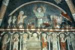 Thumbnail Early gothic fresco showing heavenly judgement in church St. Vitus in Kottingwörth Altmühltal Bavaria Germany