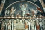 Thumbnail Early gothic fresco showing heavenly judgement in church St. Vitus in Kottingwörth Altmühltal Bavaria Germany