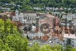 Thumbnail View from above on the old city of Eichstätt Altmuehltal Bavaria Germany