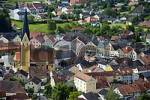 Thumbnail View from above Kreuzberg on the old city of Dietfurt Altmuehltal Bavaria Germany